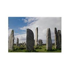 Callanish stone circle - Rectangle Magnet