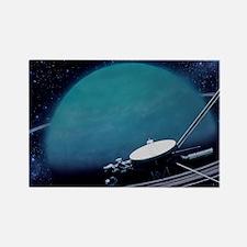 ounter with Uranus - Rectangle Magnet