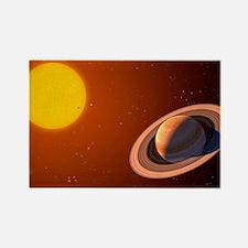Iota Draconis planet - Rectangle Magnet