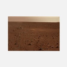 Mars surface from Spirit - Rectangle Magnet