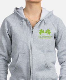 Double D's St. Paddy's Day Zip Hoodie