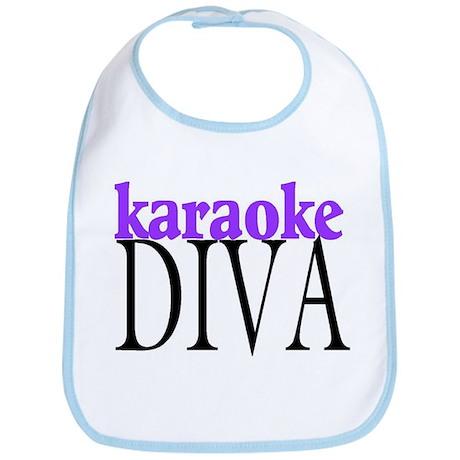 Karaoke Diva Bib