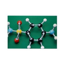 Sulphanilamide molecule - Rectangle Magnet