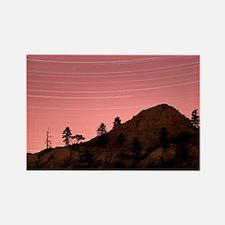 Star trails - Rectangle Magnet