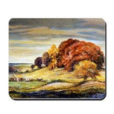 Cows on a Hillside Mousepad