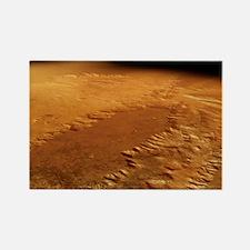 Valles Marineris, Mars - Rectangle Magnet