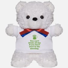 Drink All Day Teddy Bear