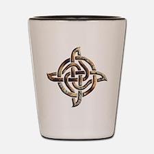 Celtic Rock Knot Shot Glass
