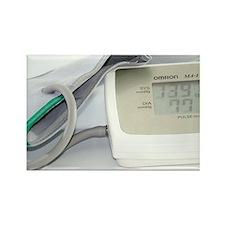 Digital blood pressure monitor - Rectangle Magnet