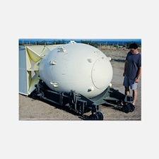 A-bomb 'Fat Man' - Rectangle Magnet