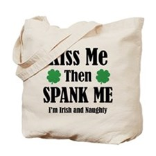 Irish And Naughty Tote Bag