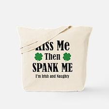 Irish And Naughty Tote Bag