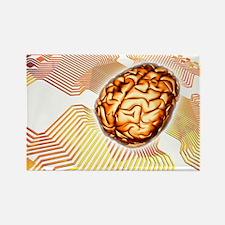 er artwork - Rectangle Magnet
