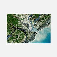 Charleston, South Carolina - Rectangle Magnet
