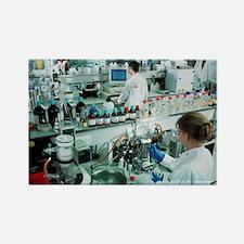 Chemistry laboratory - Rectangle Magnet