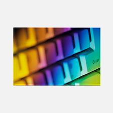 Computer keyboard - Rectangle Magnet
