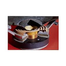 Dismantled loudspeaker - Rectangle Magnet