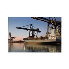 Container ship - Rectangle Magnet