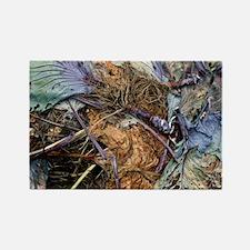 Composting vegetation - Rectangle Magnet