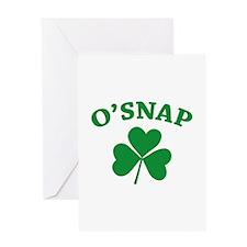 O'SNAP Greeting Card