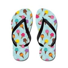 Ice Cream Cone Goodies Flip Flops