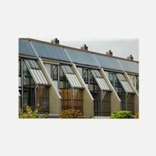 Domestic solar panelling - Rectangle Magnet