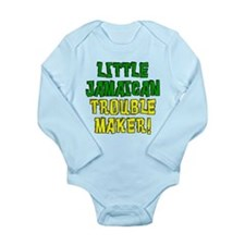 Little Jamaican Trouble Maker Long Sleeve Infant B