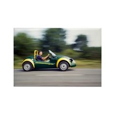 Jester electric car - Rectangle Magnet