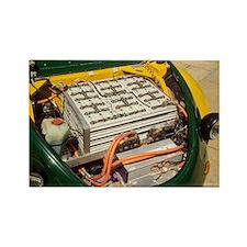 Jester electric car motor - Rectangle Magnet