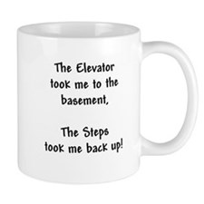 Recovery 12 Step Slogan Small Mug