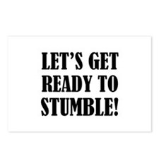 Let's get ready to stumble! Postcards (Package of