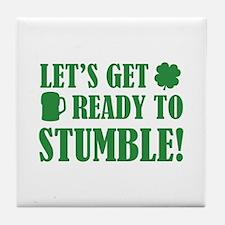 Let's get ready to stumble! Tile Coaster