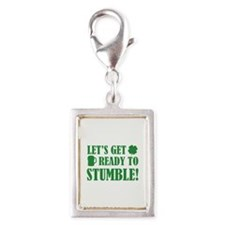 Let's get ready to stumble! Silver Portrait Charm