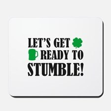 Let's get ready to stumble! Mousepad