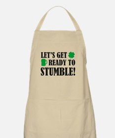 Let's get ready to stumble! Apron