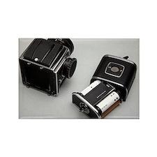 Medium format film camera - Rectangle Magnet