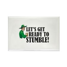 Let's get ready to stumble! Rectangle Magnet