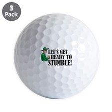 Let's get ready to stumble! Golf Ball