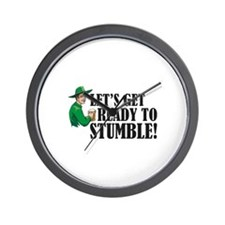 Let's get ready to stumble! Wall Clock