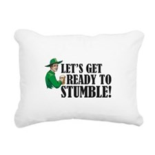 Let's get ready to stumble! Rectangular Canvas Pil