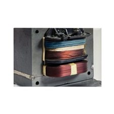 Microwave oven transformer - Rectangle Magnet