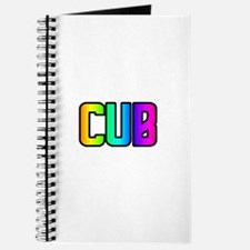 CUB RAINBOW TEXT Journal
