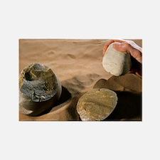 Olduwan stone tools - Rectangle Magnet