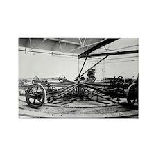 Road testing machine, 1911 - Rectangle Magnet