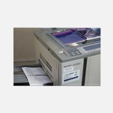 Photocopier - Rectangle Magnet