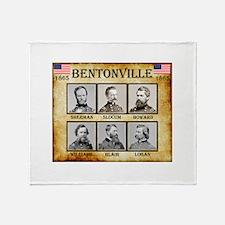 Bentonville - Union Throw Blanket