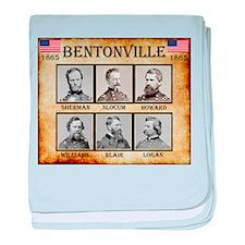 Bentonville - Union baby blanket