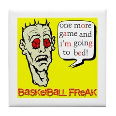 Basketball Freak Tile Coaster