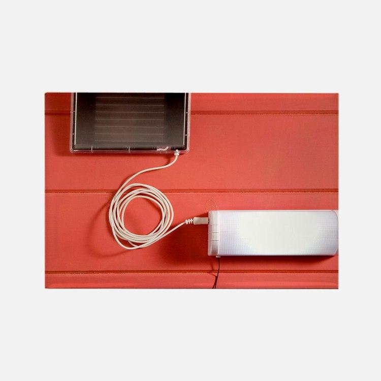 Solar powered lamp - Rectangle Magnet