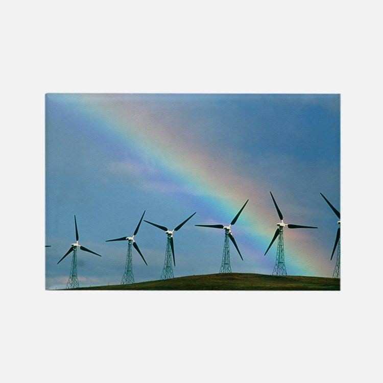 Wind farm - Rectangle Magnet